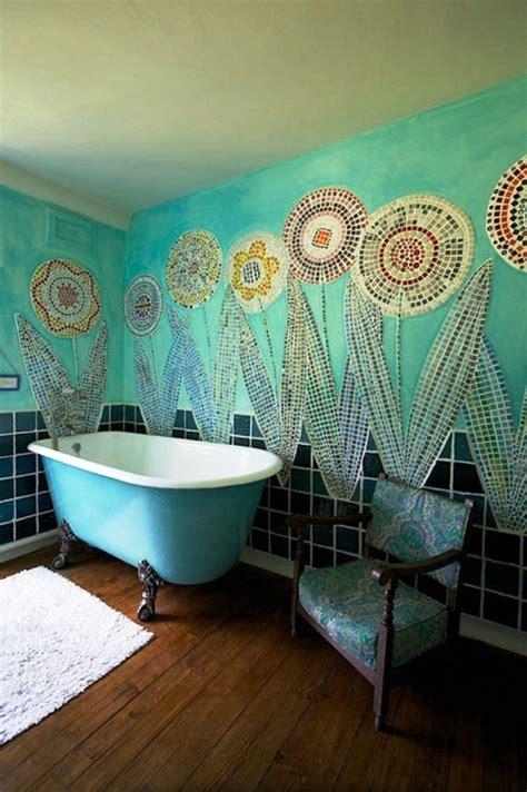 Bathroom Bohemian Decor Turquoise Bathroombohemian