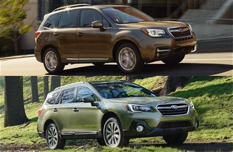 older subaru outback 2018 subaru forester vs 2018 subaru outback head to head