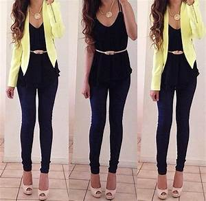 Outfit formal juvenil mujer - Buscar con Google | #outfitsteens | Pinterest | Blazers Outfit ...