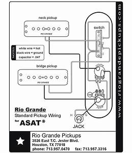 Rio Grande Pickups Wiring Diagrams