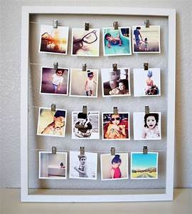 Fotos Aufhängen Schnur : polaroid fotos deko basteln gestalten 17 gute laune ideen ~ Watch28wear.com Haus und Dekorationen