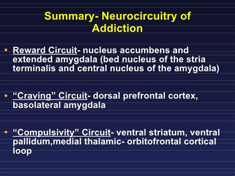 Bed Nucleus Of The Stria Terminalis by Addiction Pharmainfo