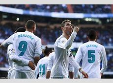Real Madrid 40 Alaves BBC all score at the Bernabeu