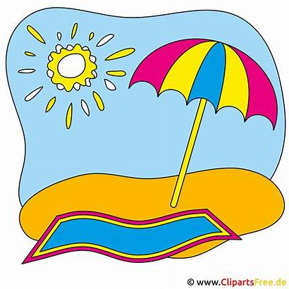 Sommer Clipart Strand Cliparts Aichwald Gwrs Gratis