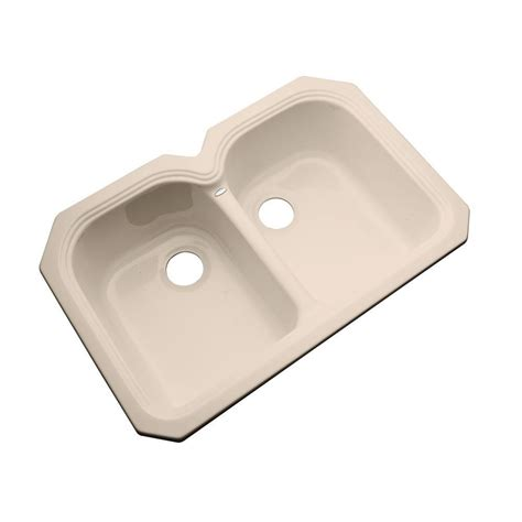 acrylic undermount kitchen sinks thermocast hartford undermount acrylic 33 in bowl 3980