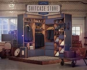Pop Up Store : unusual pop up store in giant suitcase popupstorexpert ~ A.2002-acura-tl-radio.info Haus und Dekorationen