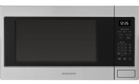 zwlsjss ge monogram  cu ft microwave drawer  glass touch controls stainless steel