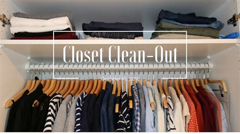 3 steps to a closet clean out embracing average