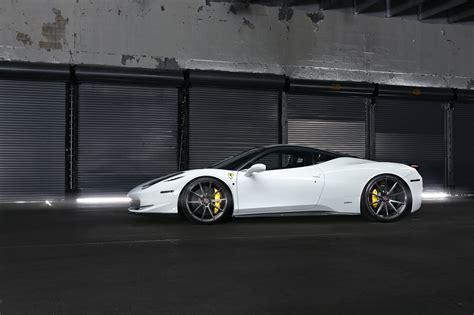 Vossen Reveals Its First Ferrari 458 Project Autoevolution