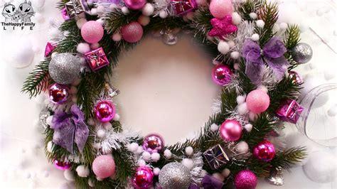 do it yourself wreath новогодний рождественский венок своими руками christmas wreath do it yourself viyoutube