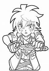 Coloring Beyblade Pages sketch template