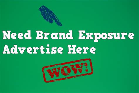Where To Advertise by Advertise With Bloggersideas And Get Exposure For Your Brand