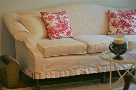 Camelback Sofa Slipcover Pattern by Custom Slipcovers By Shelley Vintage Quilt Couch