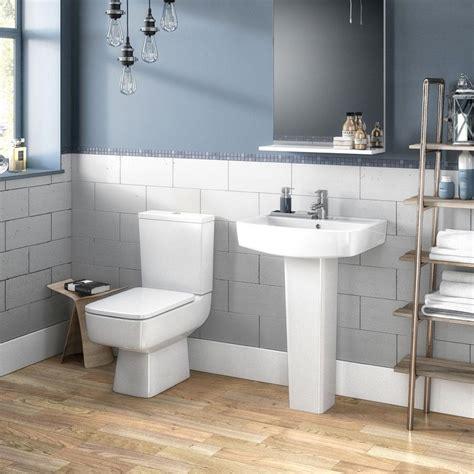 brooklyn  piece modern bathroom suite victorian