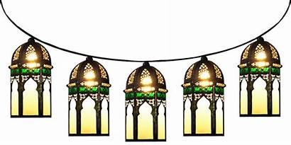 Moroccan Clipart Lamps Lantern Morocco Minaret Strung