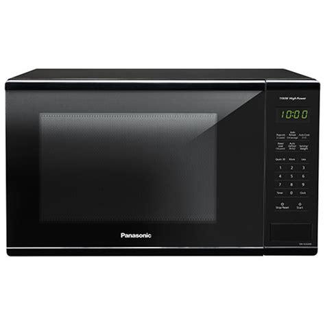 Best Buy Microwave Countertop by Panasonic 1 3 Cu Ft Microwave Nnsg626b Black