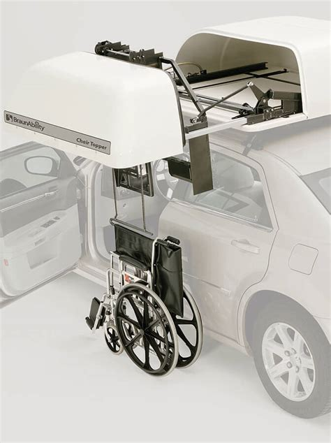 chair topper car top wheelchair carrier by braunability