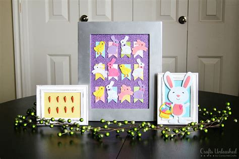 Easter Home Decor Styling: Easter Decorations: DIY Home Decor Easter Trio