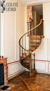 Escalier Colimaon Ancien Tout Bois Du XIXe De Petite