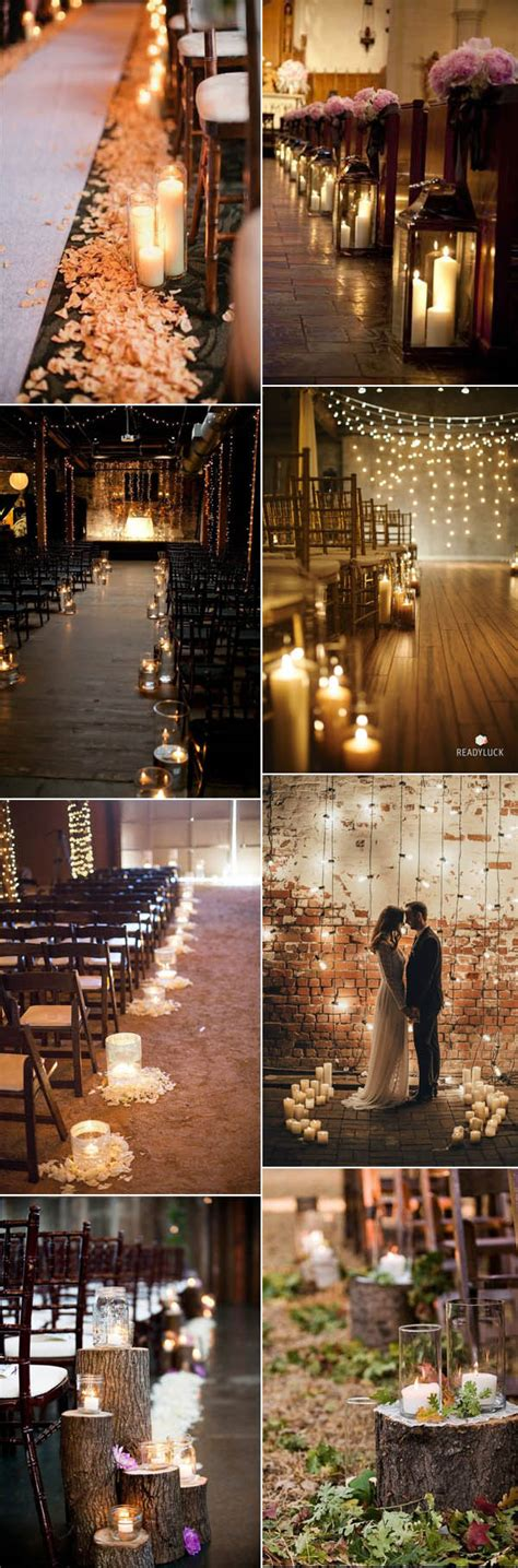 candle lighting ceremony wedding 50 fancy candlelight ideas to add romance to your