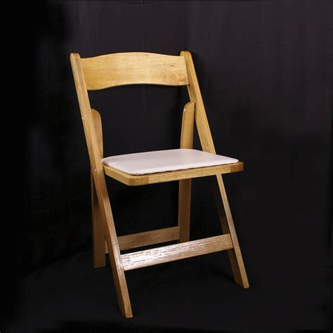 chair wood padded grand rental station