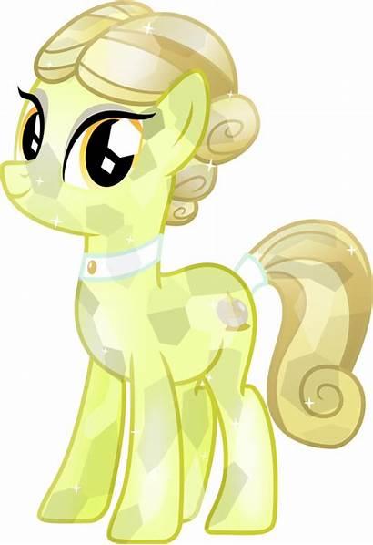 Pony Crystal Golden Spa Vector Glitter Mlp