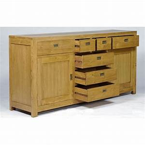 Buffet En Teck : buffet en teck 2 portes 7 tiroirs teck naturel pas cher en vente chez origin 39 s meubles ~ Teatrodelosmanantiales.com Idées de Décoration