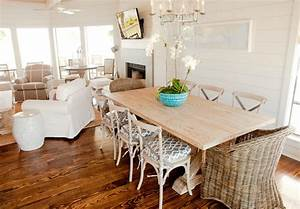 10 ways create a coastal beach house dining room With house and home dining rooms