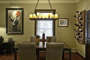 4 easy steps to refresh the look of your dining room With 4 easy steps for kitchen wall decor