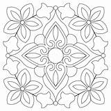 Bandana Pattern Block Coloring Patterns Quilt Embroidery Quilting Painting Mosaic Designs Mandala Innova Aplique Stencil Stencils Sweetdreamsquiltstudio Blocks Adult Dot sketch template