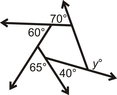 exterior angles in convex polygons read geometry
