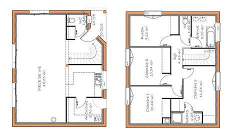 plan maison etage 4 chambres 1 bureau plan maison etage 4 chambres 1 bureau ventana