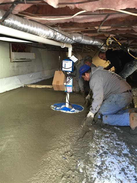 Basement Systems of New York   Crawl Space Repair Photo