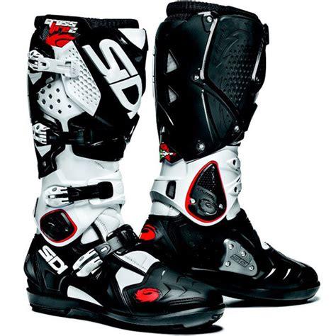 boots grey sidi crossfire 2 srs boots black white slavens racing