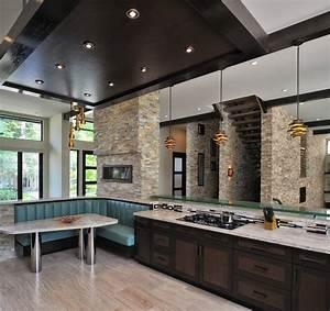 grande cuisine avec ilot central cuisine avec ilot et With cuisine moderne avec ilot central