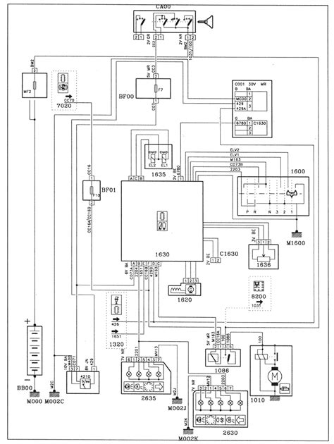 Peugeot 106 Wiring Diagram by Peugeot 106 Mb3 Automatic Gearbox Wiring Diagrams