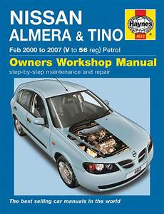 Haynes Workshop Car Repair Manual Nissan Almera  U0026 Tino