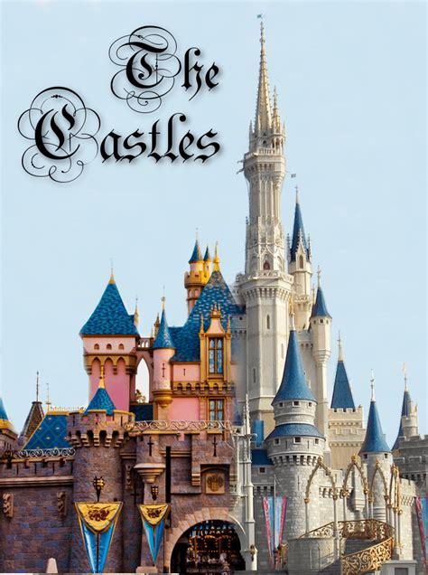 walt disney world  disneyland  castles