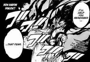 Gajeel's Iron Shadow Dragon Slayer Powers – Fairy Tail 318 ...