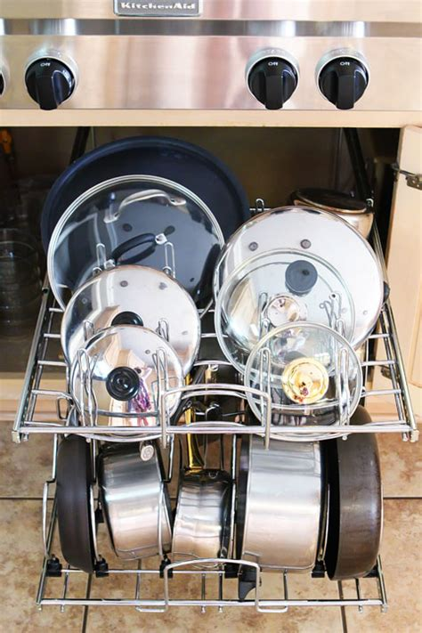 Cabinet Organization For Pots And Pans by Kitchen Cabinet Pots And Pans Organization 4 Kevin Amanda