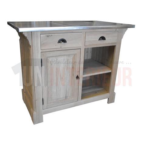 meuble cuisine bois et zinc myqto com