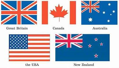 English Countries Speaking Visit Many Fun Cultures