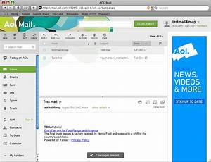 AOL Mail Account to Apple mail Using IMAP