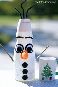 Olaf, From, Frozen, Christmas, Craft
