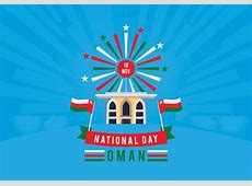 Sultanate of Oman National Day Download Free Vector Art