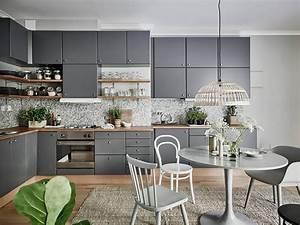 vert de gris frenchy fancy With salle À manger contemporaine avec credence cuisine scandinave