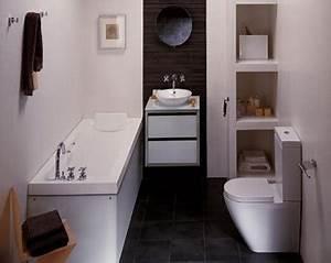 Salle De Bain Etroite : 3 bonnes id es pour une petite salle de bain deco cool ~ Melissatoandfro.com Idées de Décoration