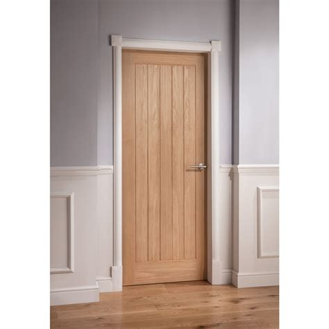 Oak Doors by Mexicano Oak Veneer Door 1981 X 762mm At Homebase Co Uk