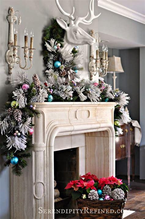 elegant fireplace christmas decorating ideas 25 gorgeous mantel decoration ideas tutorials hative