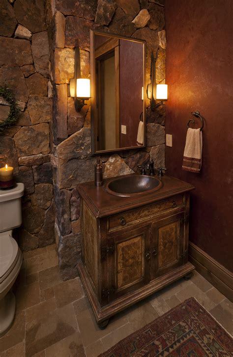 Blue And Brown Bathroom Decorating Ideas by Creative Western Bathroom Vanities Design Reclaimed Wood